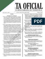 Gaceta 41019 Sentencia TSJ Nacionalidad Presidente