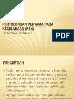 PERTOLONGAN PERTAMA PADA KECELAKAAN (P3K).ppt
