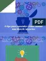 Danilo Díaz Granados - 4 Tips Para Aprender Cómo Validar Una Idea de Negocios