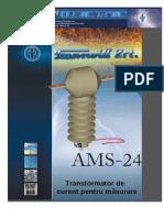 2 1 1 Transformatoare de Masura Curent Exterioare Tip AMS