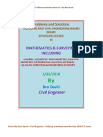 Solved Problems in Math by Ben David