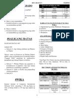 Filipino Notes