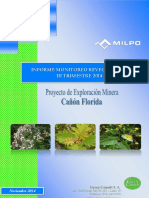 III Monitoreo de Revegetacion 2014 Informe