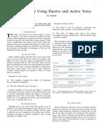guidelines for passive vs
