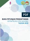 Pendaftaran CPNS 14 September 2018
