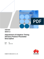 Adjustment of Adaptive Timing Advance(GBSS15.0_02)