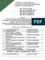 Ra Muslimat Nu 93 Siti Aisyah