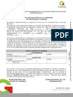 Acta Integración 2017(seguridad e higiene)