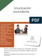 Comunicación-Ascendente y Horizontal