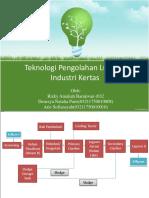Lumpur Industri Pulp & Paper