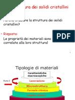 3La struttura solidi