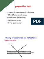 Optical Properties Test