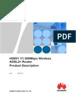 HG531 V1 300Mbps Wireless ADSL2%2B Router Product Description