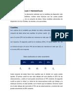 Medidias de Orden ( Cuartiles Deciles Percentiles)
