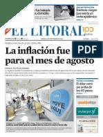 El Litoral Mañana | 14/09/2018