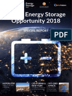 Global Energy Storage Opportunity 2018