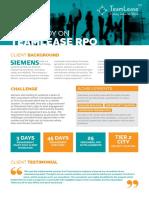Siemens Casestudy