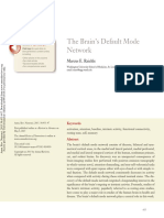 The Brain's Default Mode Network