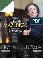 Chopin Mazurkas Luisada