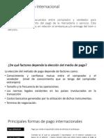 Clase 08 Formas de Pago Internacional
