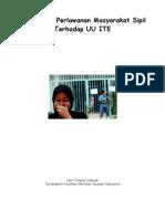 Indepth Report, Belajar dari Perlawanan Masyarakat Sipil Terhadap UU ITE