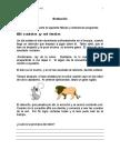 Evaluacion El Ratón y El León