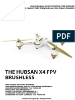 Hubsan H501S X4 - Manual Controle Profissional (Português Brasil)