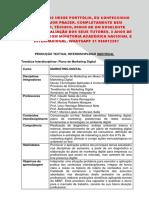 Portfolio UNOPAR MARKETING 3 e 4 - 2018 - Marketing Digital - Encomende Aqui 31 996812207