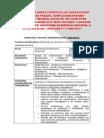 Portfólio Unopar - Processos Gerenciais - Industria de Confecções Feminina - Encomende Comigo - 31 996812207