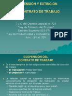 6. Suspensión y Extinción Del Contrato de Trabajo