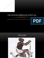 African American Spirituals Sav
