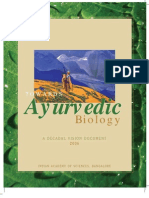 Towards Ayurved Biology