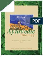 Towards Ayurved Biology