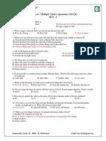 2-Microsoft Excel MCQs