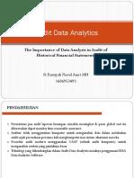 Audit Data Analytics Ppt