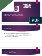 documentshistory of media