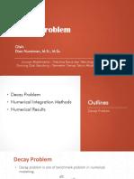 Decay Problem