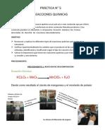 informe 5 Q.G