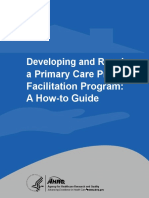 Developing and Running a Primary Care Practice Facilitation Program