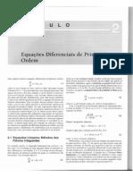 Equações Diferenciais Elementares e Problemas de Valores de Contorno Equações Diferenciais de Primeira·