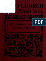 Bindley. St. Cyprian on the Lord's prayer; an English translation, with introduction (1914)