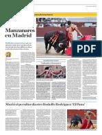 El Comercio (Lima-Peru) Lun 6 Junio 2016 (Pag 42) Pag Taurina