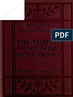 Moore. The treatise of Novatian, On the Trinity (1919).