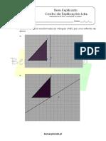 1.4 - Isometrias No Plano - Ficha de Trabalho (1)