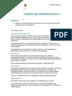 BASICA - PROCESOS DE SEPARACION