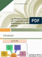 Filminas_La Promoción de La Lectura en Comunidades Ribereñas