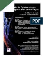 Epistemologia e Pesquisa Em Comunicação