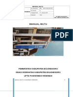Manual Mutu Kedewan Revisi