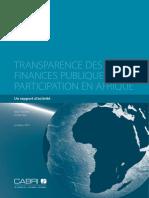 Transparence de FP en Afrique