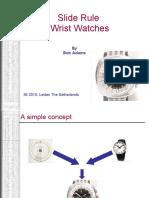 Slide Rule Wrist Watches 3